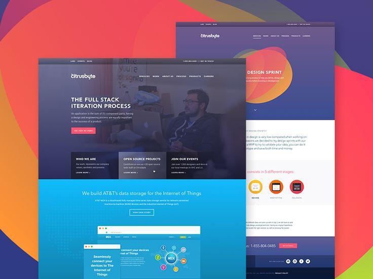Citrusbyte — New Site Sneak Peek