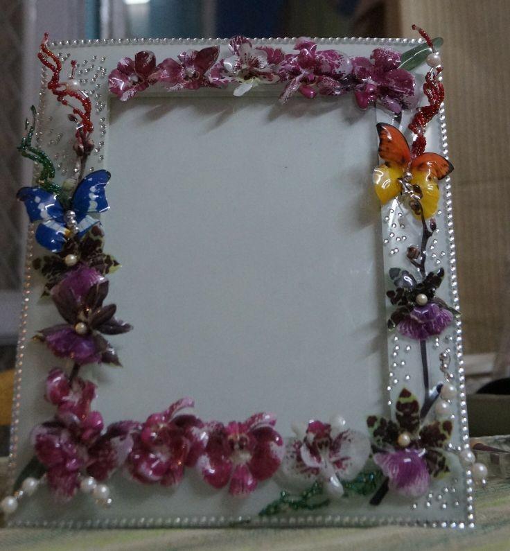 sospeso flower embellished frame