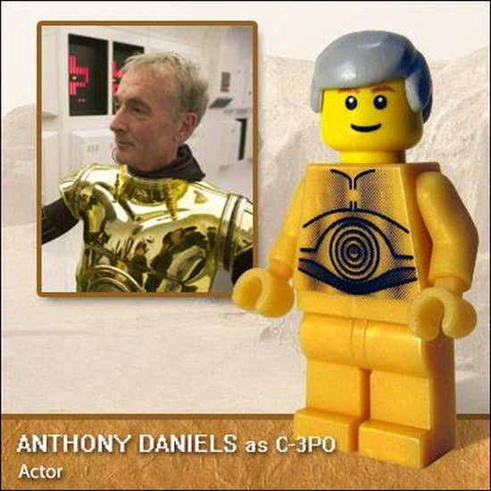 LEGO Figures of Famous People | PlanetOddity.com