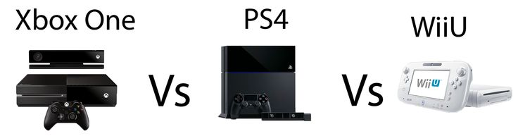 Hot and Cute H.D Wallpapers For Mobiles And PC: XBOX one vs Play Station 4 vs Wii U Comparison of ...