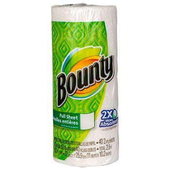 Bounty Paper Towels, 40-sheet Roll