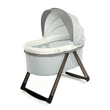 Video review for Ingenuity FoldAway Rocking Wooden Bassinet - Grey