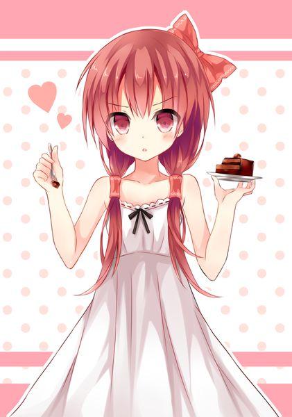 Anime picture 819x1167 with  touhou hakurei reimu mizumidori girl long hair single blush tall image red eyes dress ...