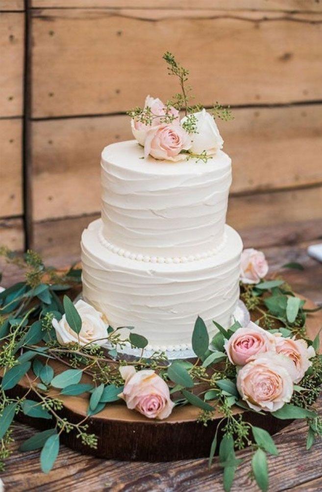 32 Jaw-Dropping Hübsche Hochzeitstorte Ideen beautiful – schöne zweistufige Hochzeitska …   – Wedding cakes