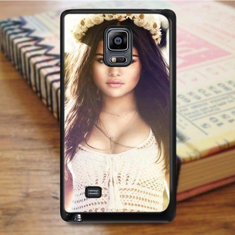 Selena Gomez Sexy Singer Samsung Galaxy Note 4 Case
