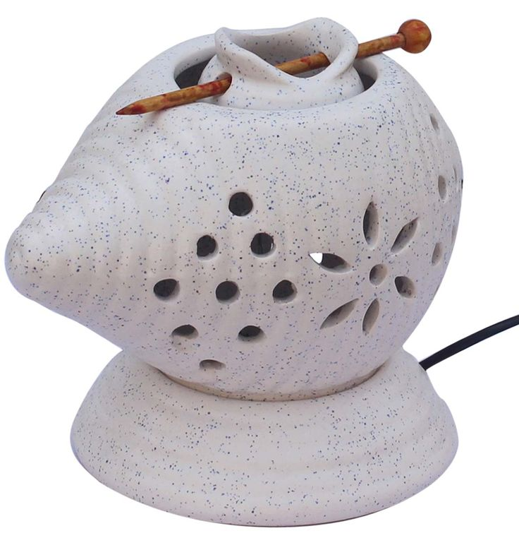 Wholesale Ceramic Electric Essential Oil Diffuser - Bulk Buy White Aromatherapy Electric Wax Melt / Tart Warmer with Separate Receptacle Cup & Stick - Essential Fragrance Accessories
