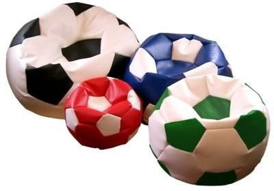 Puff Bola Futebol Decoração Quarto Sala Seu Time Clubes Jogo - R$ 85,00
