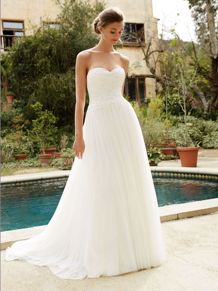 26 best Brautkleid images on Pinterest | Wedding dressses ...