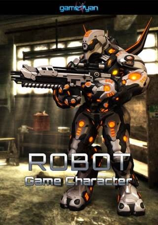 3D Robot Game Character Modeling,Los Angeles, USA