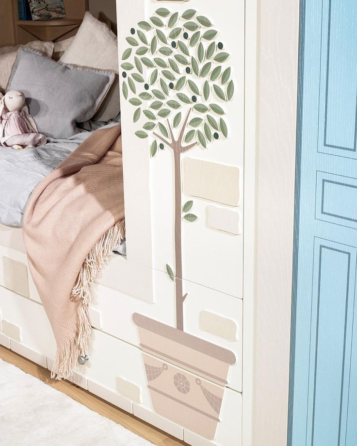 There's cosy...and then there's Young Empire cosy with added olive & lemon trees 🌿🍋 - Young Empire - Smart Luxury Children's Furniture