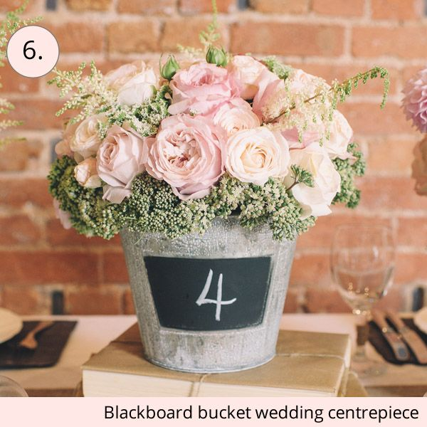 15 Wedding Centrepieces For Or Less