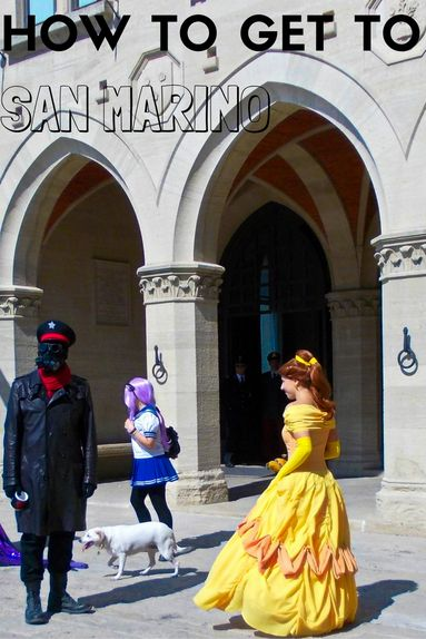How to get to San Marino a small nation within Italy in southern Europe- the 5th smallest country in the world!