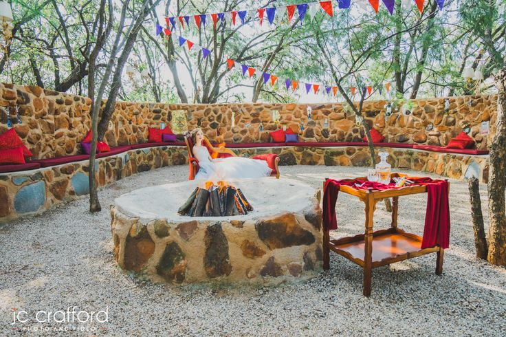 Get Married in our Morrocan Boma. Outdoor ceremony weddings is absolutely wonderful for Winter and Spring. Casablanca Manor Wedding and Funtion Venue in Gauteng/Pretoria www.casablancamanor.co.za