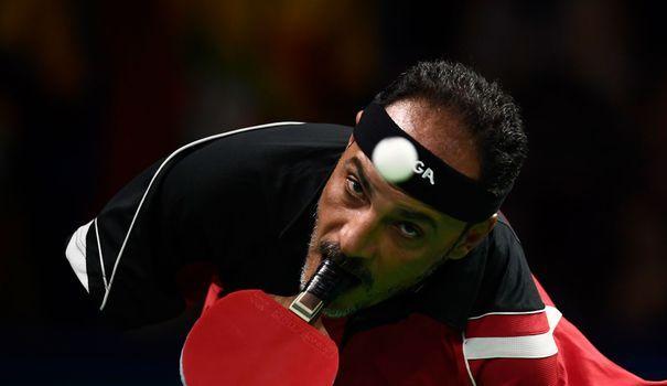 VIDEOS. Jeux paralympiques: la raquette entre les dents, la légende Hamadtou - L'Express