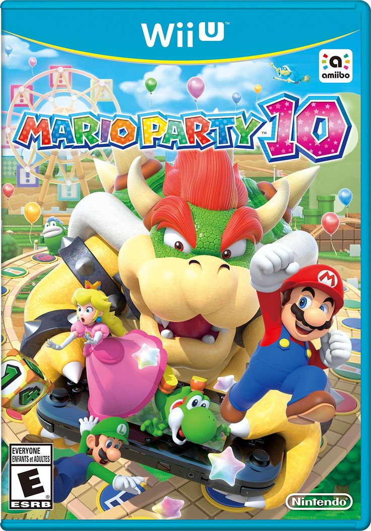 Mario Party 10 - Wii U Im so excited! Ive been playing mario party since '98