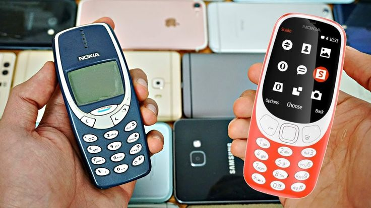 New Nokia 3310 comes with Series 30 plus and old Nokia is gray screen display. New with Bluetooth and camera and old nothing.