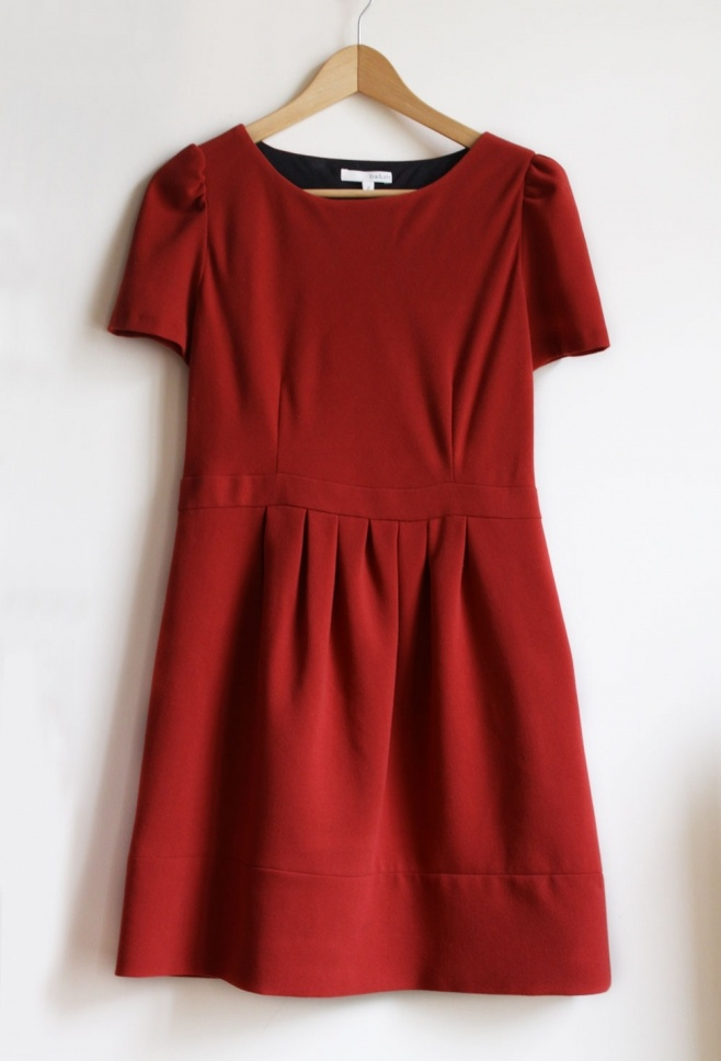 #red #dress Ba $51 sold by Capucine on http://www.subtill.com #Subtill