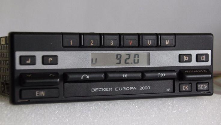 Becker Europa 2000 BE1100 Mercedes W124 W126 W140 R107 W126 W201 A0028207886 #Becker