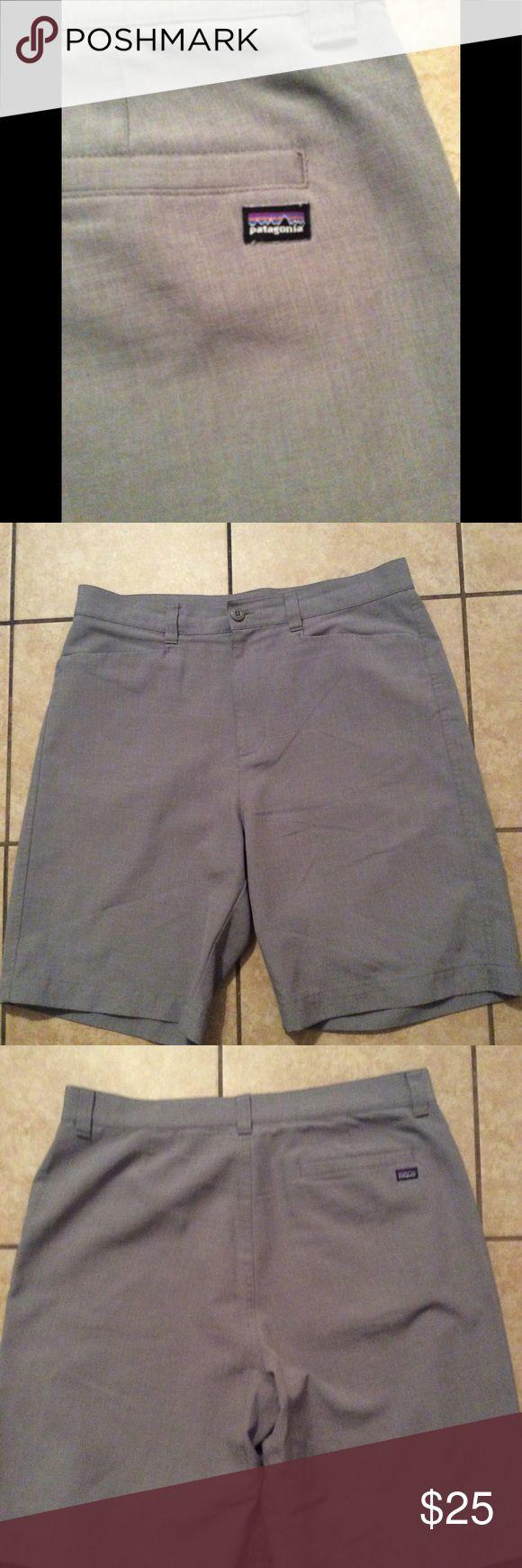 Patagonia dress shorts Patagonia men's dress shorts 34 like new grey Patagonia Shorts
