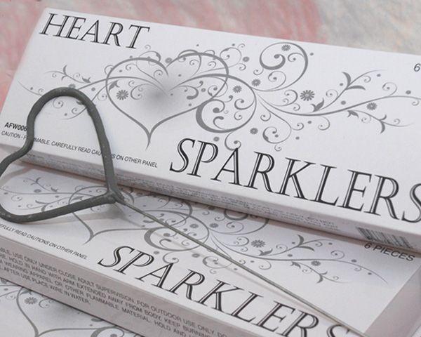 Sparklers Heart Shape: Shaped Sparklers, Wedding Ideas, Weddings, Heart Sparklers, Dream Wedding, Wedding Sparklers, Weddingideas, Future Wedding