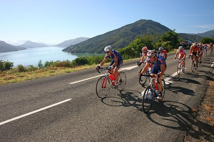 Forrest GrapeRide - Pedal through stunning Marlborough scenery, then get off your bike and try your hand at crushing grapes; riding the Forrest GrapeRide is truly unique. #newzealand