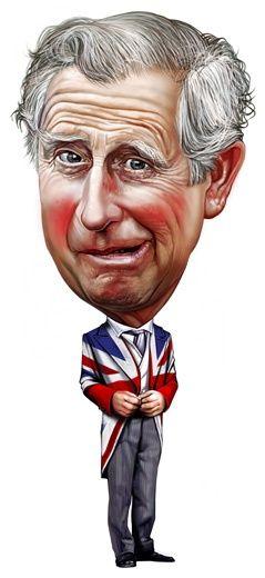 Prince Charles- illustration by Romeo Raileanu