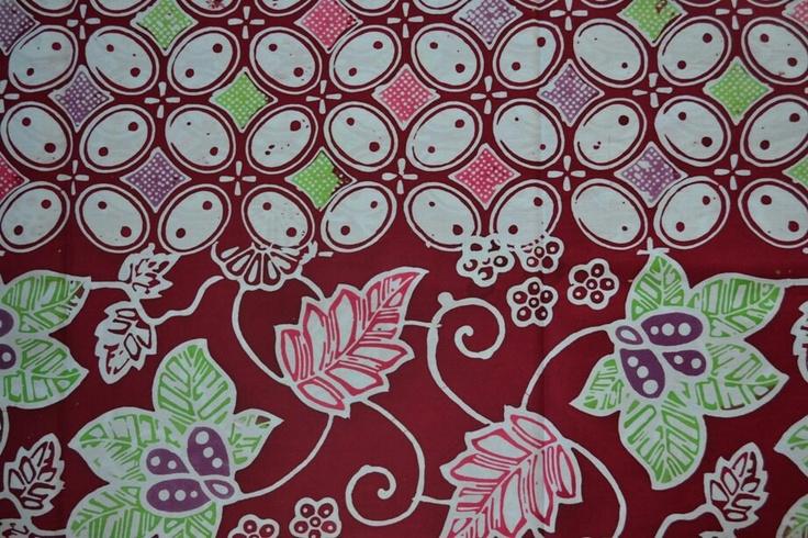Javanese batik motif.. Kawung Beton | Batiks & Ikats | Pinterest