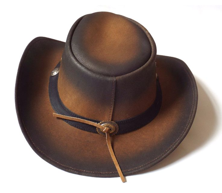 Brown/Faded hat in genuine buffalo leather from over-lander, Pakistan.  The brim is about 8 cm, and the hill is about 10 cm. #Cowboyhats #leather #leatherjacket #leatherpants #leathers #leatherbag #leathercraft #leatherskirt #leathershop #leatherhead #leatherhat #leatherhats #leatherhatband #hat #hats #leatherusa #texas #texashat #texashats #leaderhosen #leaderhosens #oktoberfest #oktoberbaby #oktoberbebis #oktobertfest #oktobertfest #usa #uk #bavarian #leathersupply