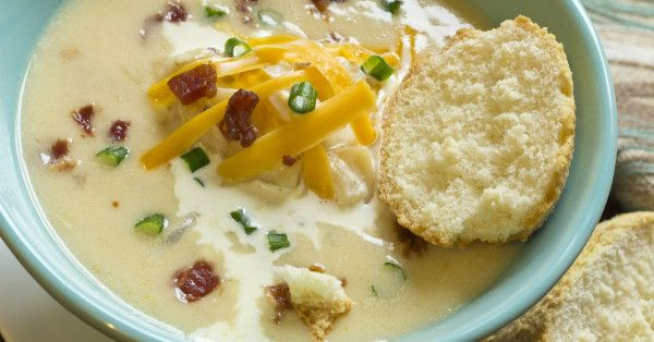 All The Goodness Of A Baked Potato, Packed Into A Hearty Soup!