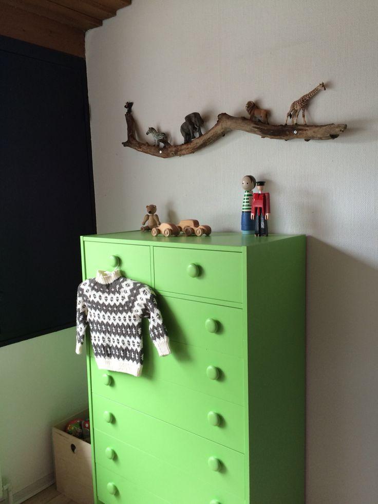 Childrens bedroom & wild animals DIY