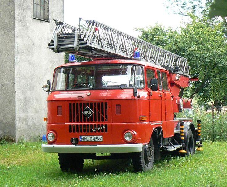 IFA W50L Fire Engine.