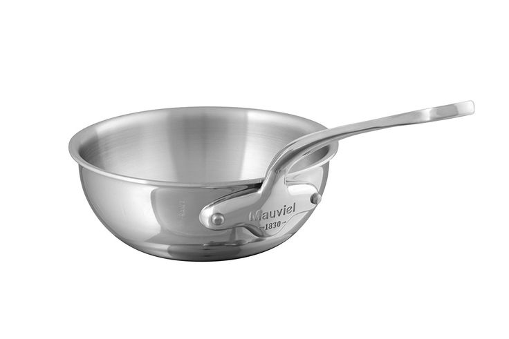 Mauviel 5212.24 M'Cook 3 Qt. Splayed Stainless Steel Saute Pan * Unbelievable  item right here! : Saute Pans