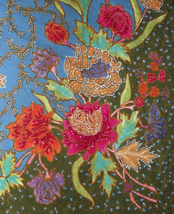 Hand-painted Batik Demakan Repro