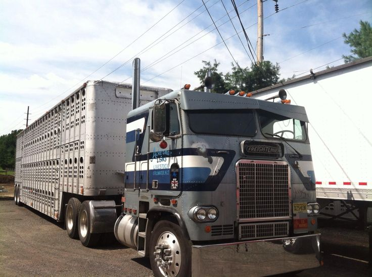 83 Freightliner Cabover. This Here Be My Shaker