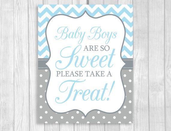 Best Blue Gray Boy Baby Shower