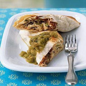 Superfast Southwestern Recipes | Roast Chicken Chimichangas ...
