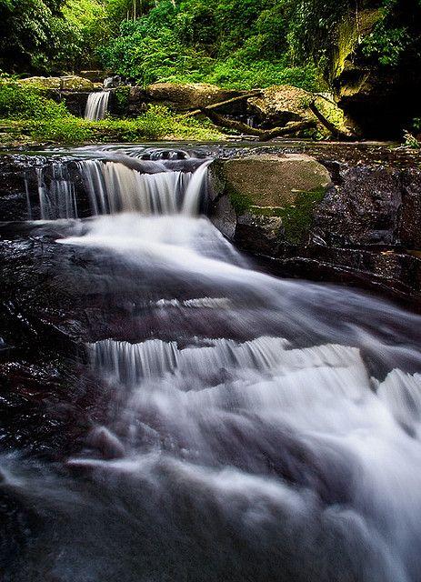 Mpushini Falls - Eshowe, Natal, South Africa