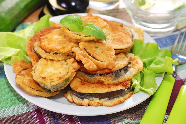 Crispy Greek Fried Eggplant recipe (Melitzanes tiganites)