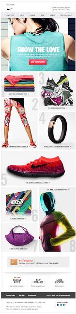 Nike email 2014 ecampaign #eblast