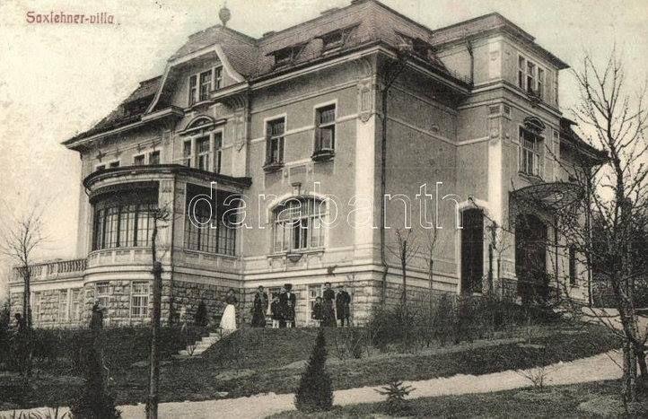 Saxlehner villa Ménesi út 21 1914-ben épült a Hunyadi János keserűvíz gyárosa
