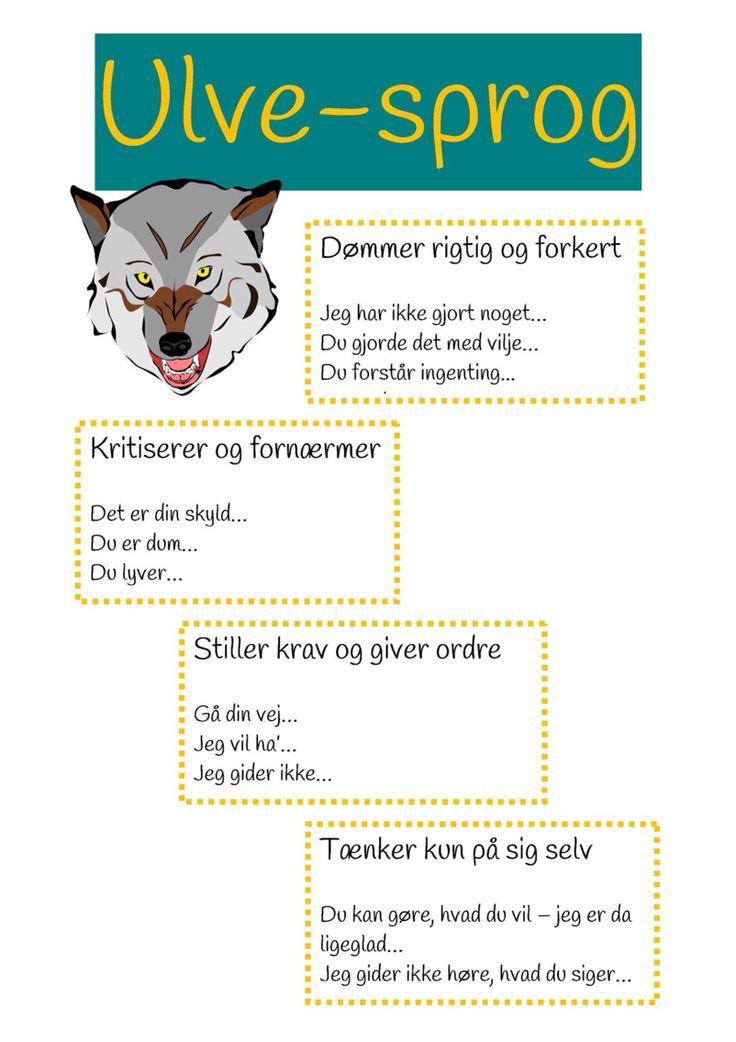 Ulve-sprog
