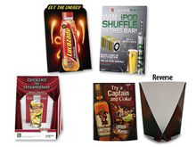 Showcards are effective point of purchase displays.