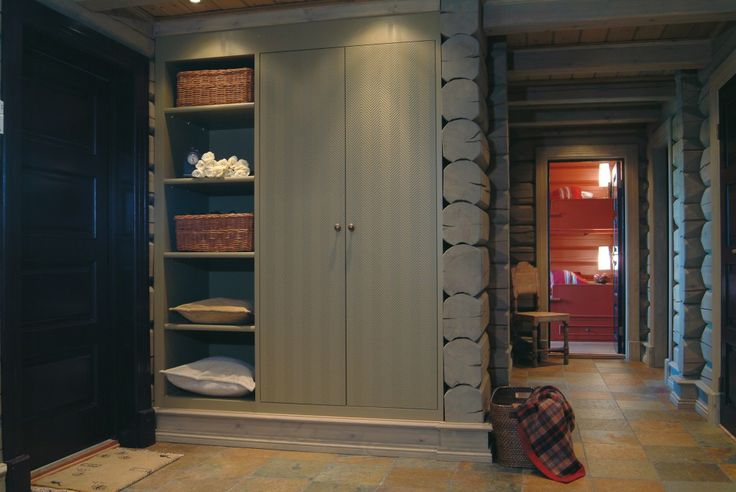 Lovely closet idea in a hall!