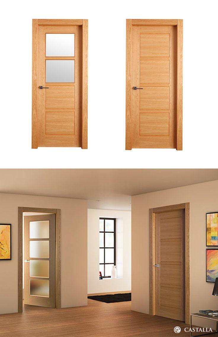 M s de 25 ideas incre bles sobre puertas dobles en for Puertas de madera para habitaciones