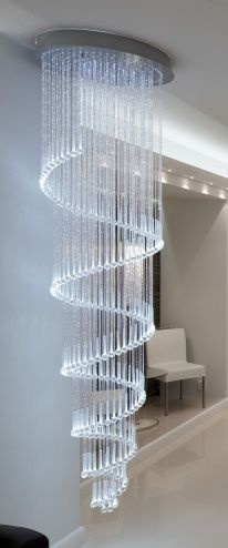 'Kimmel' a curtain of LED lights by Cariitti Oy