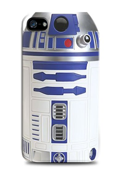R2 D2 Starwars iPhone Case. The R2-D2 cover in familiar blue and white is great for fans of the film to pay homage, whilst adding some fun to your phone. Also available for samsung galaxy note 2 and 3, samsung galaxy s3 and s4. Design by Ya-E-Lah. http://zocko.it/LDEvR