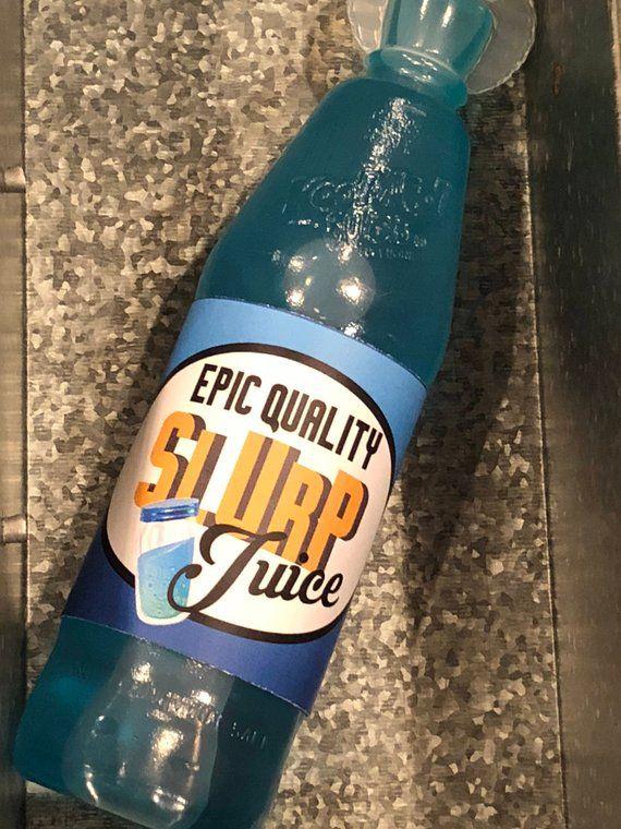 Fortnite Birthday Slurp Juice Printable Bottle Wraps Water Labels Kool Aid Bursts Wrappers Part Half Birthday Party 5th Birthday Party Ideas Party On Garth