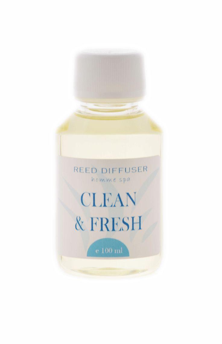clean & fresh reed diffuser