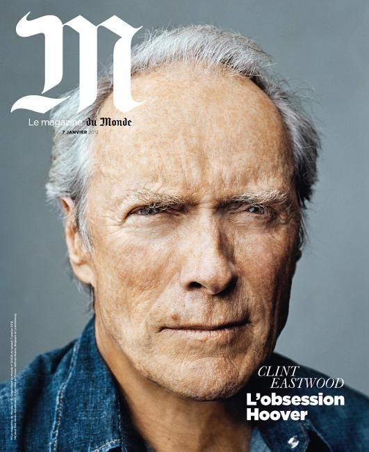 Clint Eastwood, no photoshop