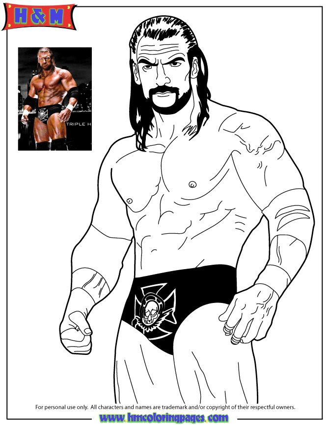 42 best wwe coloring pages images on Pinterest Colouring pages